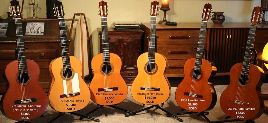 Classical Spanish Vintage Guitars